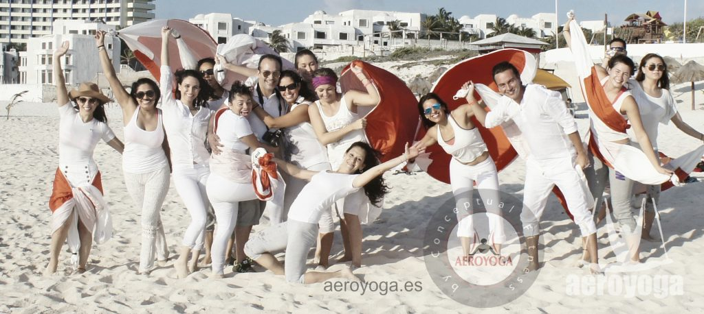 CANCUN, AEROYOGA, CURSOS, AIR YOGA, YOGA, PILATES , FITNESS, DEPORTE, WELLNESS, COLUMPIO