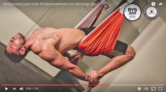 AEROYOGA® BY RAFAEL MARTINEZ, TEACHER TRAINING, AEROPILATES®, VIDEO
