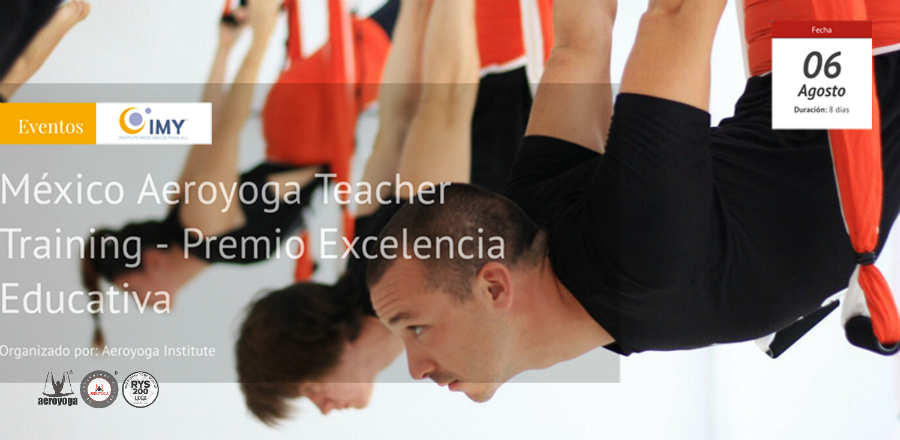 cursos yoga aereo, aerial yoga teacher training mexico, latino america, usa, canada