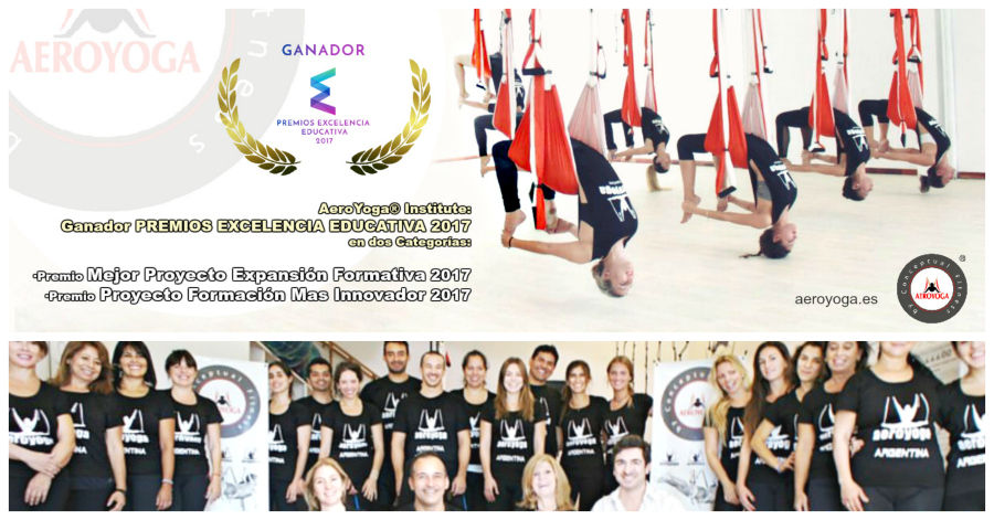 AERO YOGA INSTITUTE, PREMIOS, GALARDONES, TENDENCIAS, TV, RADIO, MEDIOS, PRENSA, ARTICULOS, NOTAS, RAFAEL MARTINEZ, COLUMPIOL HAMAC, HAMACA, TRAPEZE, BODY, GRAVITY, FLY, FLYING, TEACHER TRAINING