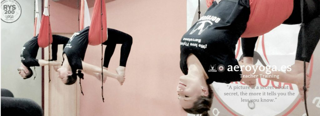 formACION PROFESORES AEROYOGA® Y AEROPILATES® BARCELONA, INTERNATIONAL TEACHER TRAINING, AERIAL YOGA, FLY, FLYING, TRAPECIO, COLUMPIO, YOGA AERIEN